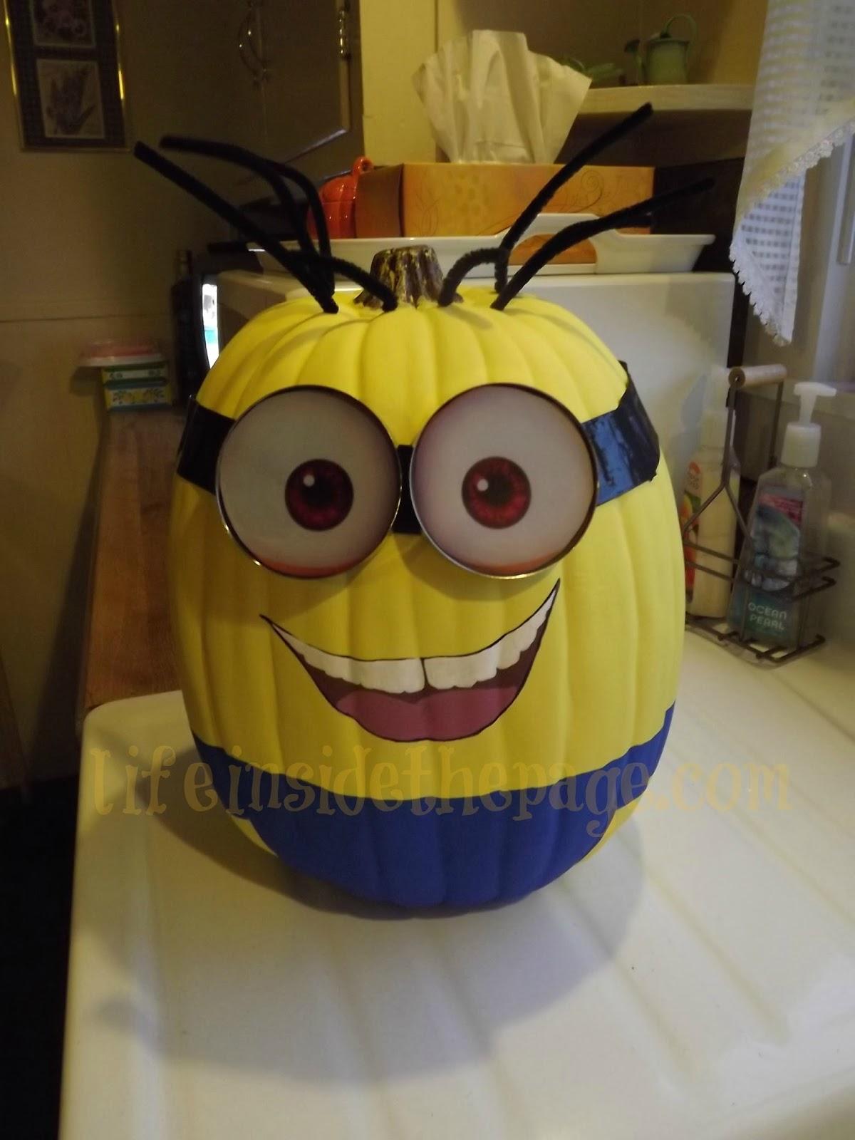 Craft: Making my own Minion Pumpkin | Bath & Body Works Fan Blog