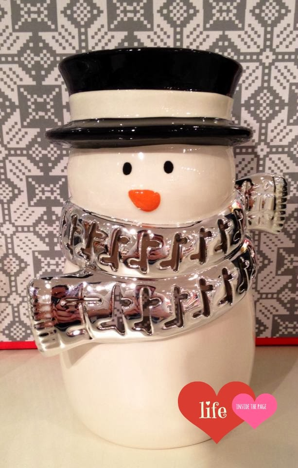 Bath And Body Works Snowman Candle Holders Metal And